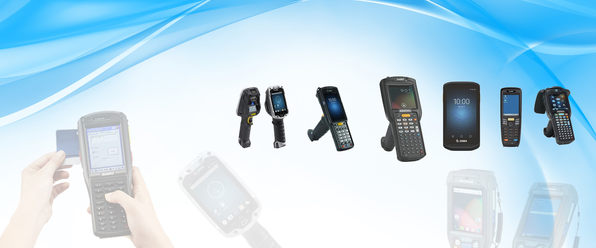 Banner about Handheld Devices